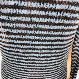 Free People Sweaters - Free People Striped Wool TurtleNeck Sweater M